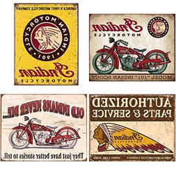 Indian Tin Sign Bundle - Indian Scout, Indian Motorcycles Si