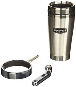 Kuryakyn 1463 Universal Drink Holder with Stainless Steel Mu