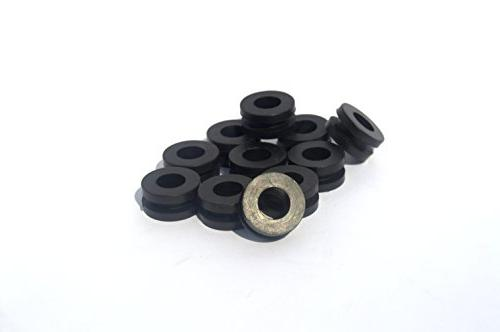 10 Pack Universal Grommet for Motorcycle Body Fairing Cowlin