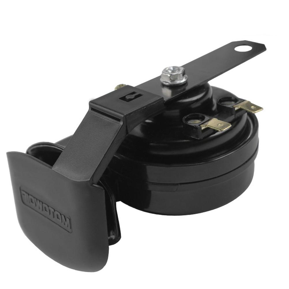 12V 130dB Low Snail Air Horn ABS Siren <font><b>Parts</b></font> Car Loud