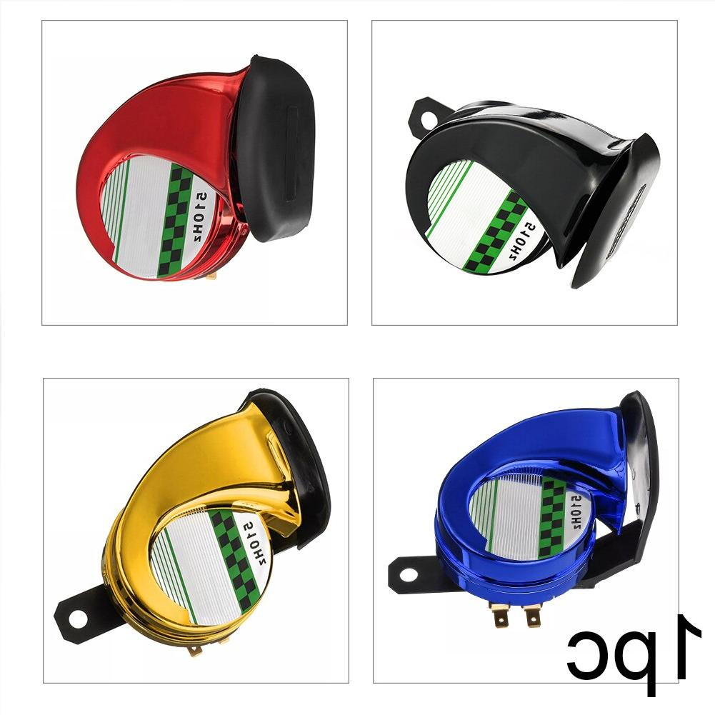 12V 130dB Corrosion Low Power Single Snail Air Horn ABS Siren Replacement <font><b>Waterproof</b></font> <font><b>Parts</b></font>