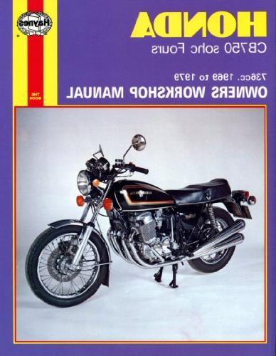 1969-1979 Honda CB750 CB 750 K F Four HAYNES REPAIR MANUAL 1