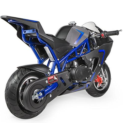 XtremepowerUS Gas Power Pocket Motorcycle Ride-on