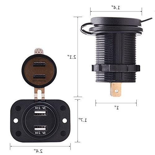 MICTUNING 4326593002 USB Charger