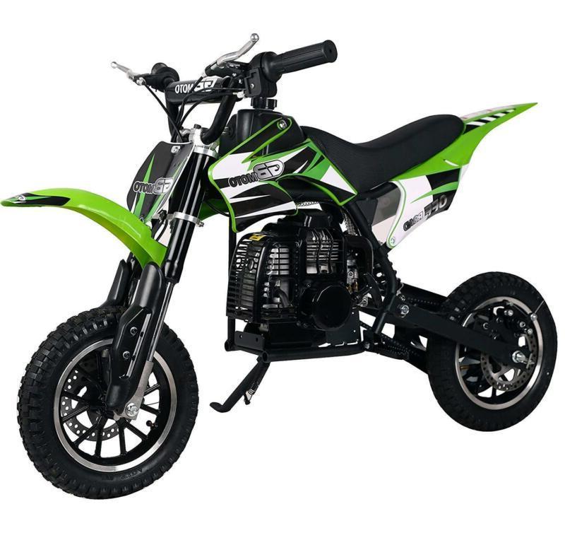 49Cc 2-Stroke Mini Bike,Pit Bike Dirt Road Motorcycle, Scoote