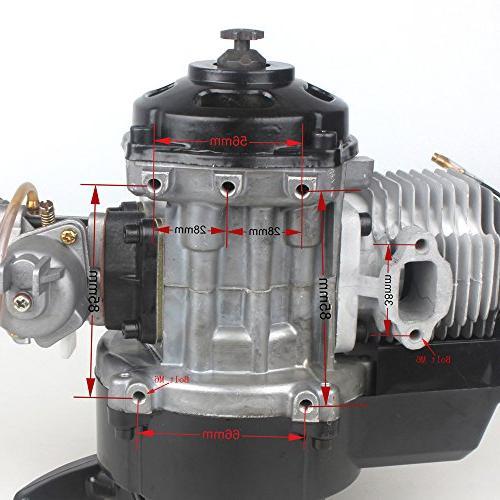 Pocket with Performance Cover Carburetor Engine