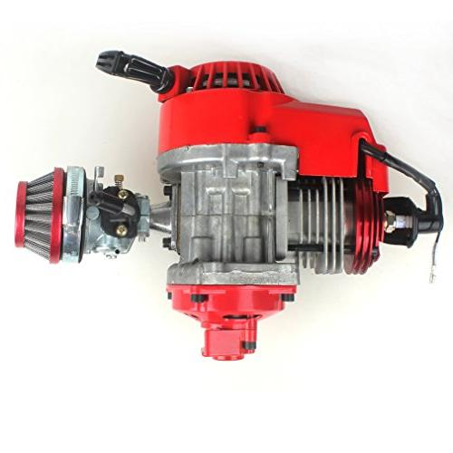 49cc 52cc Pocket Bike Performance Cylinder CNC Engine Cover Engine