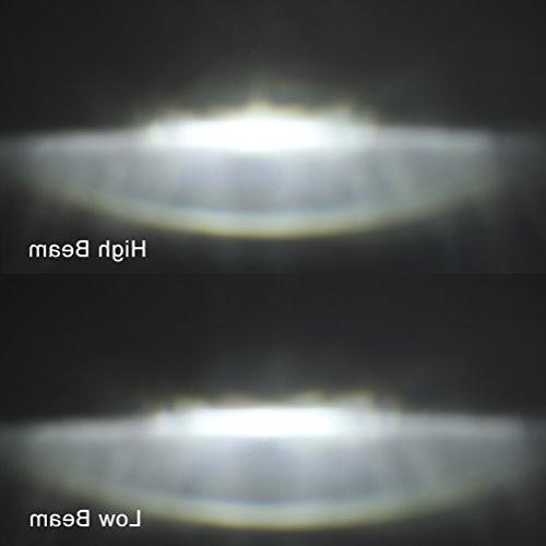 LED Headlight Davidson Chrome