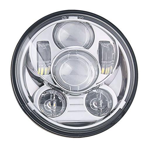 5-3/4 5.75 Inch LED Davidson Motorcycles 45W Chrome