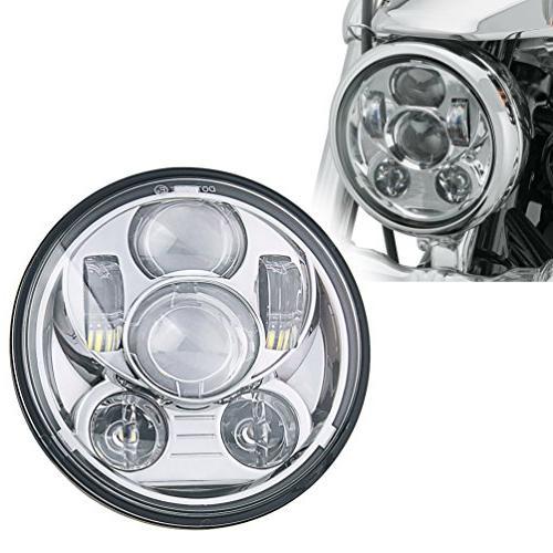 5-3/4 5.75 Inch Projector LED Davidson Chrome
