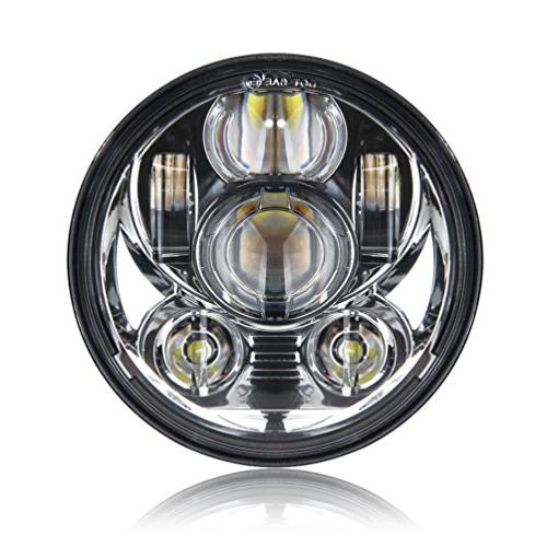 5-3/4 5.75 Inch Projector LED Headlight for Harley Davidson