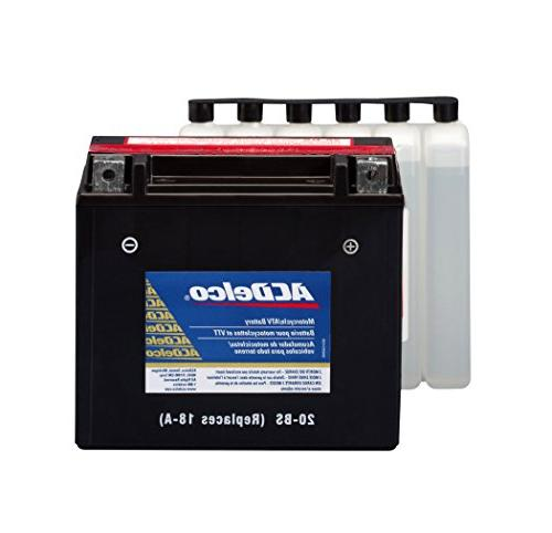 ACDelco ATX20BS Specialty AGM Powersports JIS 20-BS Battery