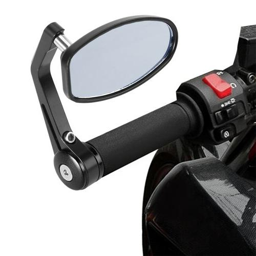 Astra Depot Adjustable Heavy Duty Bar Mirrors Replacement For BMW Suzuki Honda Buell