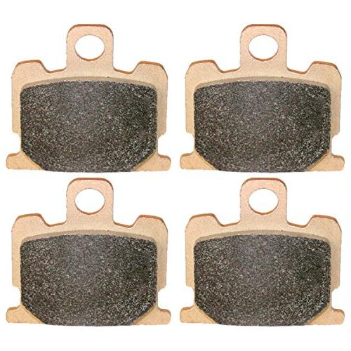 Caltric FRONT MOTORCYCLE PADS Fits YAMAHA RD350 RD-350 LC 35