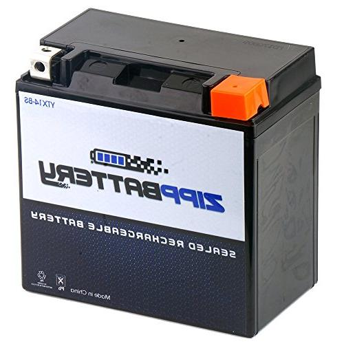 Chrome Battery YTX14-BS High Performance-Maintenance Free-Se