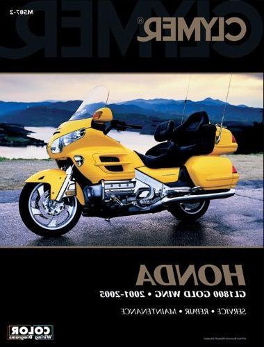 Clymer Honda GL1800 Gold Wing 2001-2010 Motorcycle Repair Ma