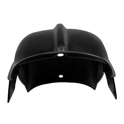 Custom Black Mudguard For Chopper Bobber Café Honda Shadow Yamaha V Star