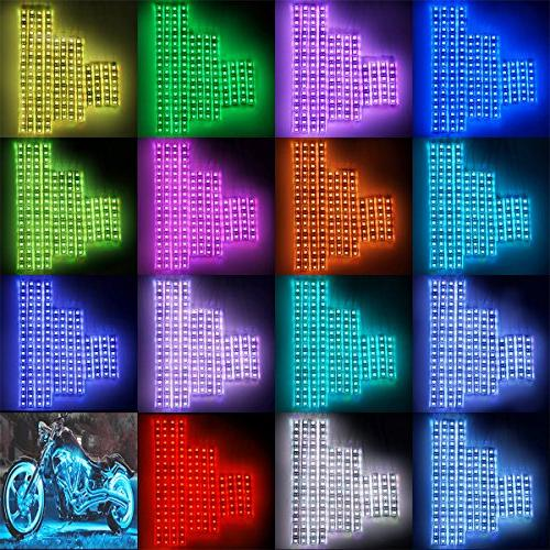 DITRIO Motorcycle Light Kit Accent Glow Effect with for Harley Honda