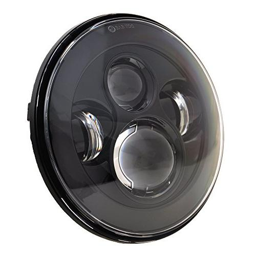 Dot Approved 7Inch LED Headlight for Harley Motorcycle Tour,FLD,Softail King,Electra Glide,Yamaha Star Jeep