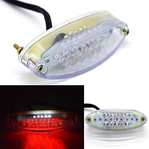Evomosa Universal 28 LEDs Motorcycle LTZ ATV Tail Light and