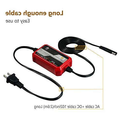 Foval Automatic Trickle Charger Smart Battery