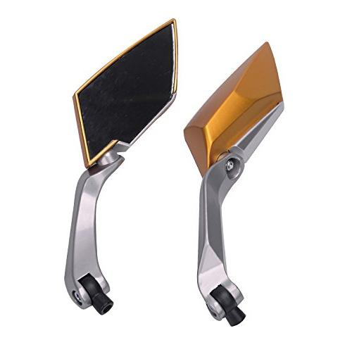 Frenshion 8/10mm Motorcycle Rearview Mirrors For Sport Scooter Cruiser