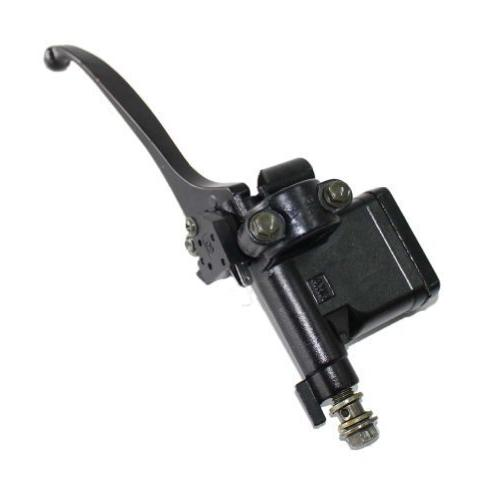 Front Right Brake Master Cylinder Lever With 8mm Mirror Mounting Hole for GY6 50cc 125cc 150cc 250cc Scooter Moped ATV Dirt Pit Bike