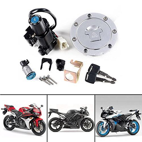 Fuel Gas Tank Ignition Switch Lock Key For 2004 2006 2007 1000RR 03-06