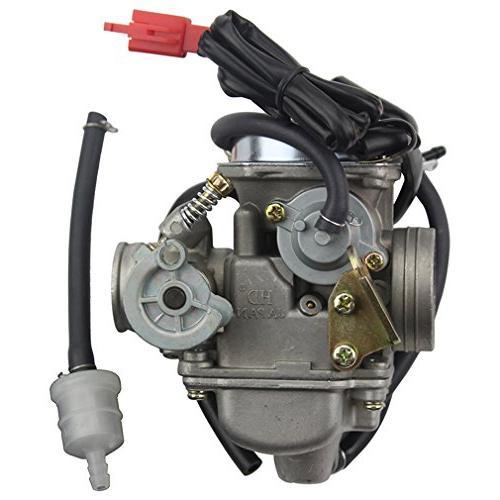 Goofit Pd24j Carburetor For Gy6 125cc 150cc Atv Scooter Manual Guide