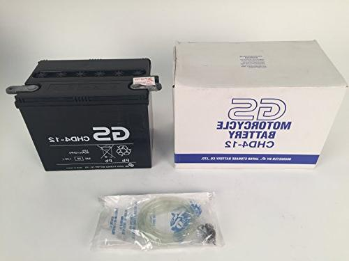 CHD4-12 with Acid – Battery Replacement. Fits Personal Watercraft