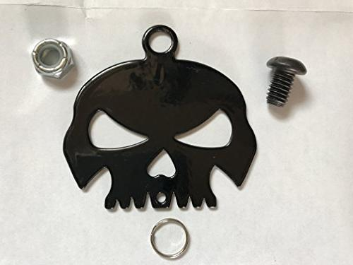 Gloss Skull Motorcycle & Ring Included all Road Harley Davidson