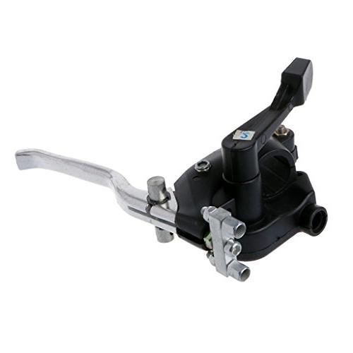 Goodqueen A motorcycle double brake thumb throttle handle