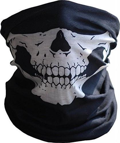 Hitaocity Motorcycle Skull Mask / Wear Headgear Neck Warmer