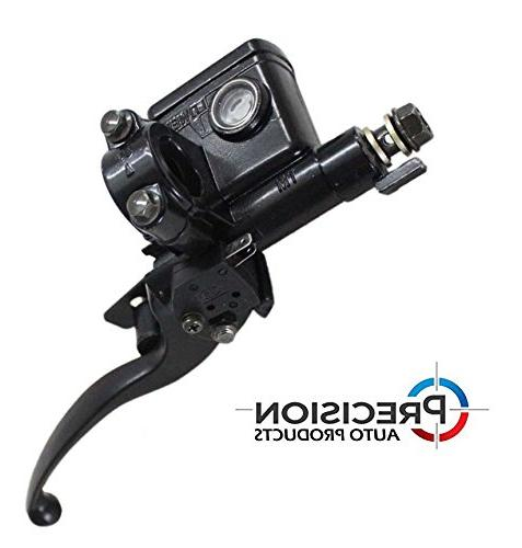 Hydraulic Brake Lever Master Cylinder - Side Lever 7/8 Inch - for 250cc, Scooter, ATV, Bikes, Easy Precision Auto