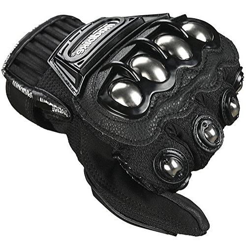 ILM Alloy Steel Motorcycle Powersports Tactical Paintball Gloves