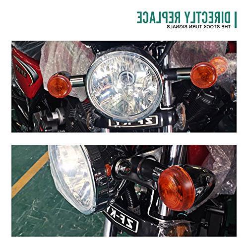 Lights Chrome Bullet Front Rear Blinker Light for Harley Suzuki