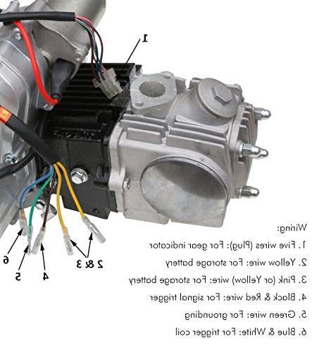 JCMOTO 4 Stroke Semi-Auto Honda XR50 XR SSR 110 CT70 ST70 Dirt