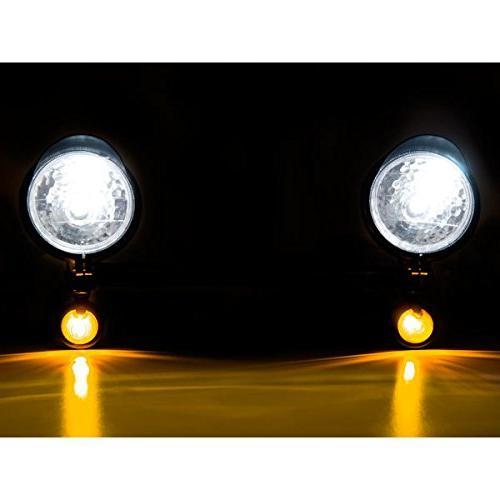 Krator Motorcycle Light Bar Turn Signals Yamaha Royal Star Venture Royale Deluxe