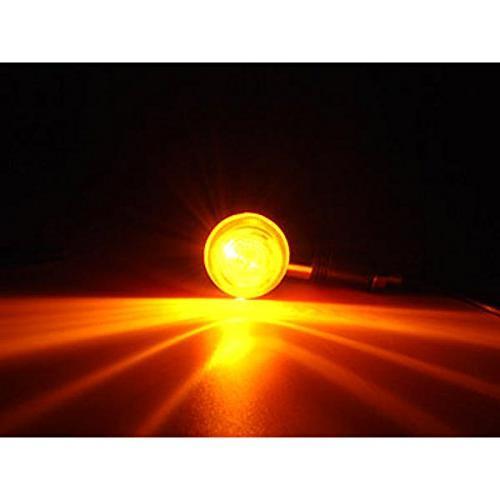Krator pcs Amber Bullet Turn Signals Lights Kawasaki Vulcan