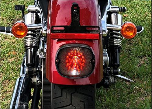 LED Tail Brake Light Taillight + Built-in Turn