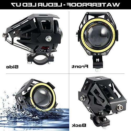 LEDUR U7 Running Eyes Spotlight Strobe White Light Switch