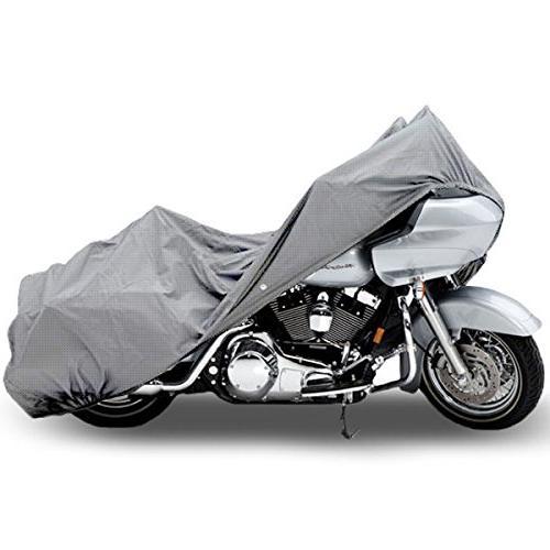 Motorcycle Bike 4 Layer Storage Cover Heavy Duty For Honda V