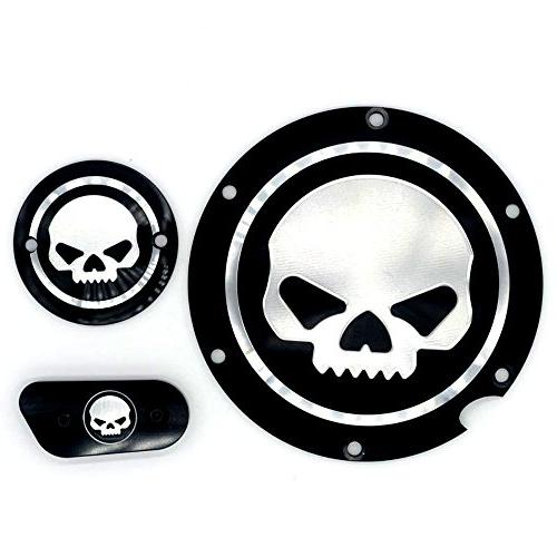 Motorcycle Black Timing Accessories Timer Sportster Iron 883 1200