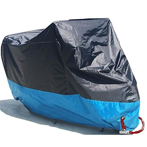 Motorcycle Cover Waterproof Motorbike Scooter Shelter Outdoo