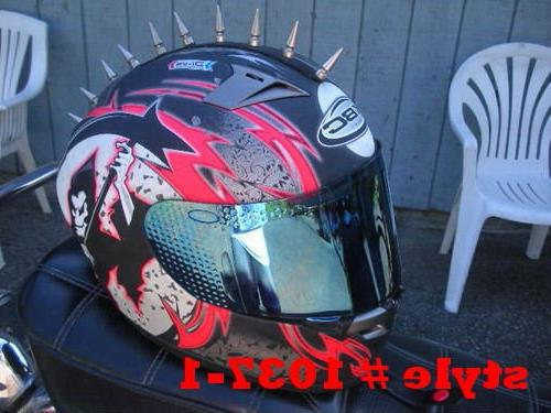 Motorcycle Harley Parts Helmet Mohawks Spike Not Included