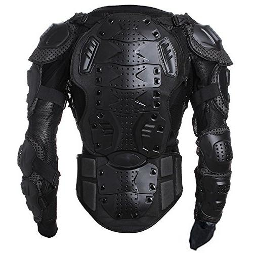 Motorcycle Protector Chest Gear Armor Protective L For Motorbike ATV Car