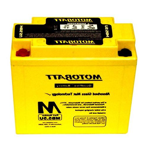 NEW MotoBatt Battery For Yamaha RD125 RD250 RD350 RD500 RZ25
