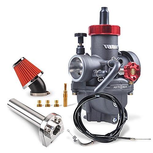 NIBBI Motorcycle Carburetor GY6 Performance Parts PE28mm Car