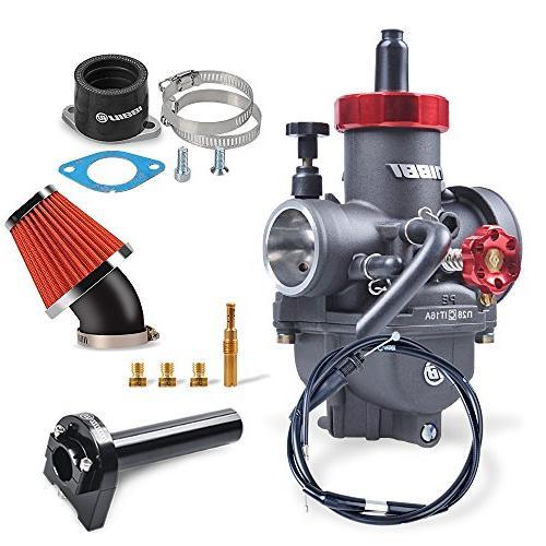 NIBBI Speed Modified Carburetor Kit PE28MM CG Intake Manifol