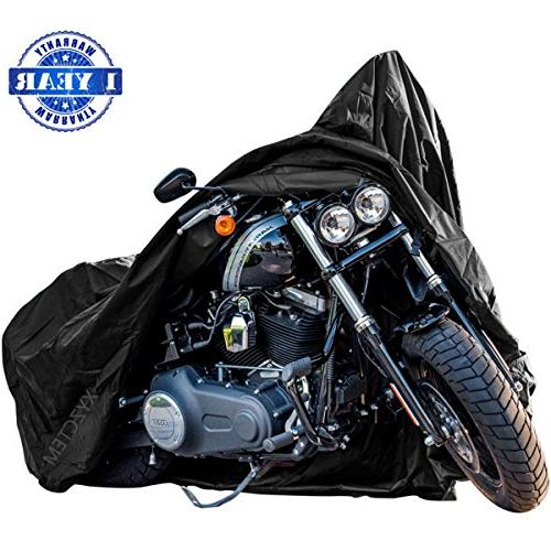 New Generation Motorcycle cover ! XYZCTEM All Weather Black